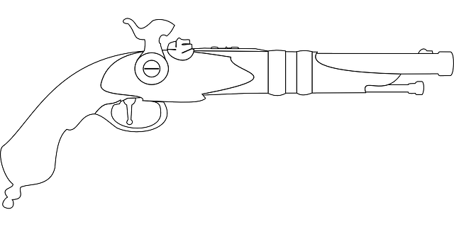 Pistol Musket Vintage 183 Free Vector Graphic On Pixabay