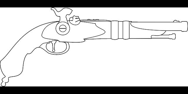 Free Vector Graphic Pistol Musket Vintage Gun Free