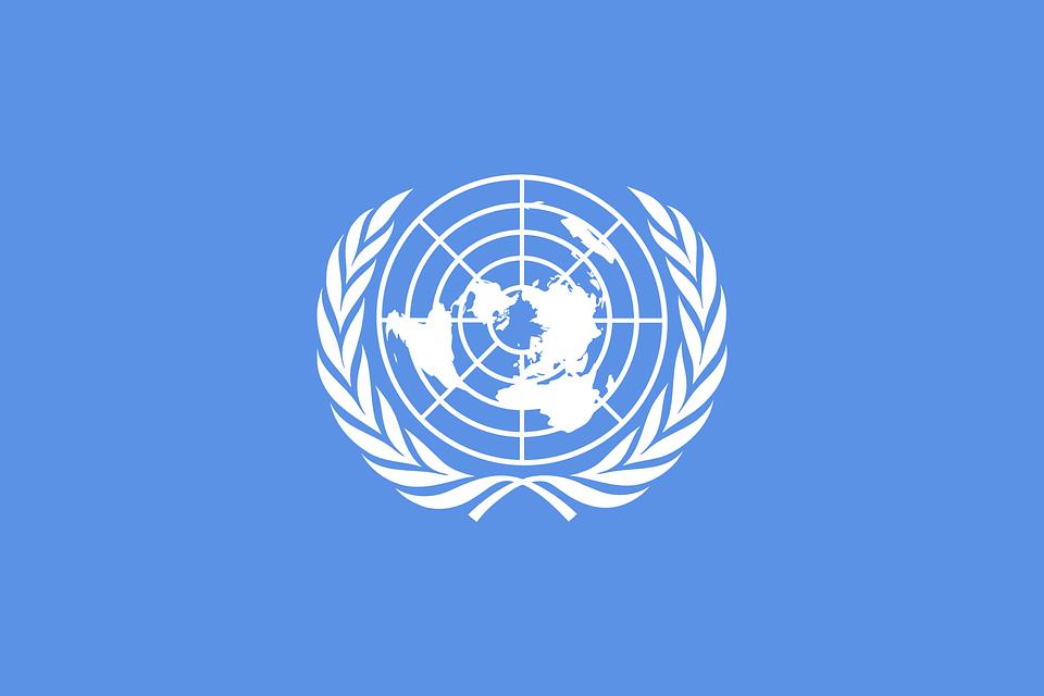 Vector Gratis: Unidos, Naciones Unidas, Bandera