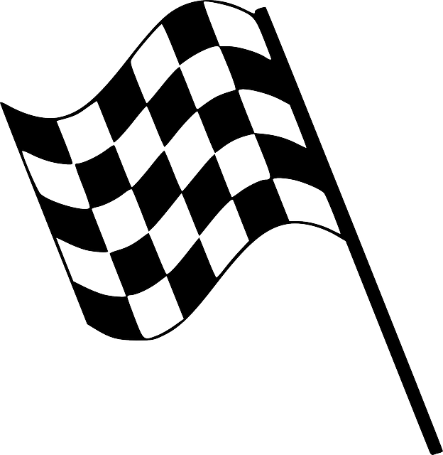 flag chequered finishing  u00b7 free vector graphic on pixabay
