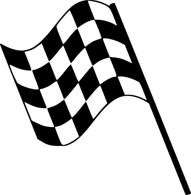 flag chequered finishing  u00b7 free vector graphic on pixabay