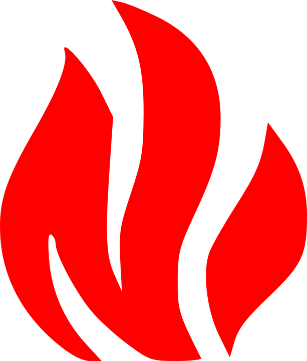 fire symbols flame 183 free vector graphic on pixabay