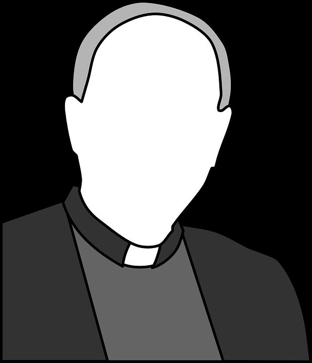 Free Vector Graphic Priest Church Man Christian