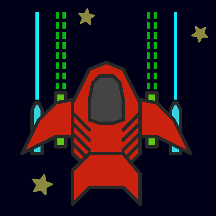 Uzay Gemisi Roket Bosluk Pixabay Da Ucretsiz Vektor Grafik