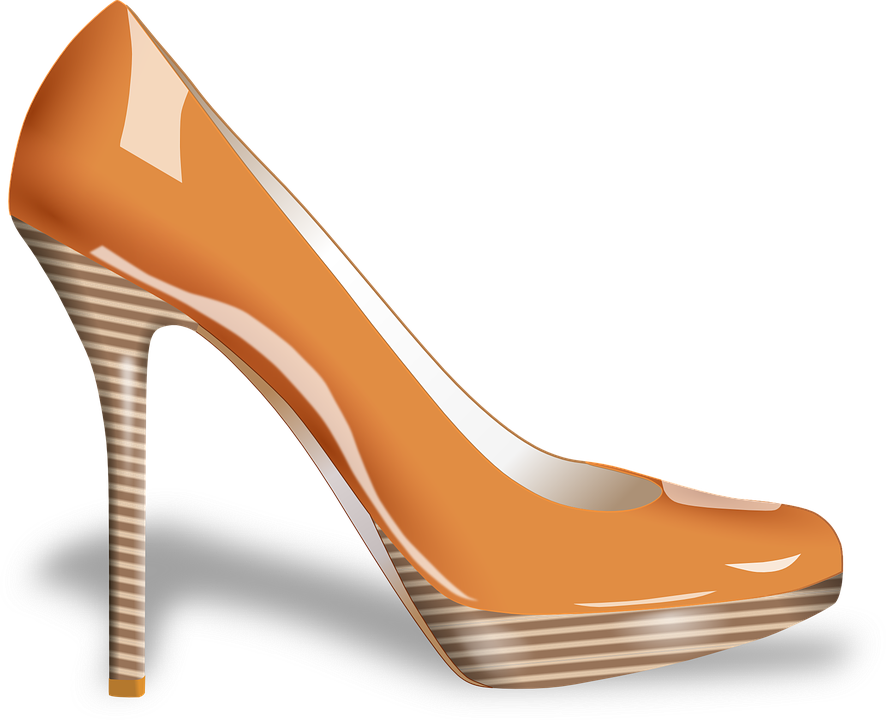 free vector graphic high heels shoe woman ladies. Black Bedroom Furniture Sets. Home Design Ideas