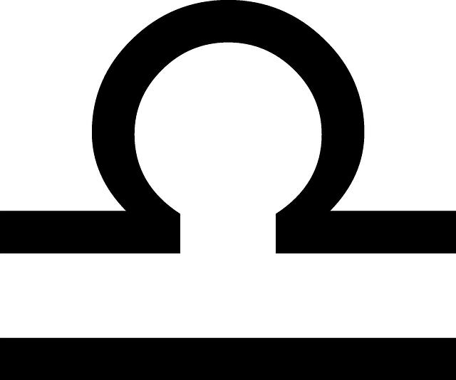 Vector gratis: Libra, Zodiac, Signo, Símbolo - Imagen ...