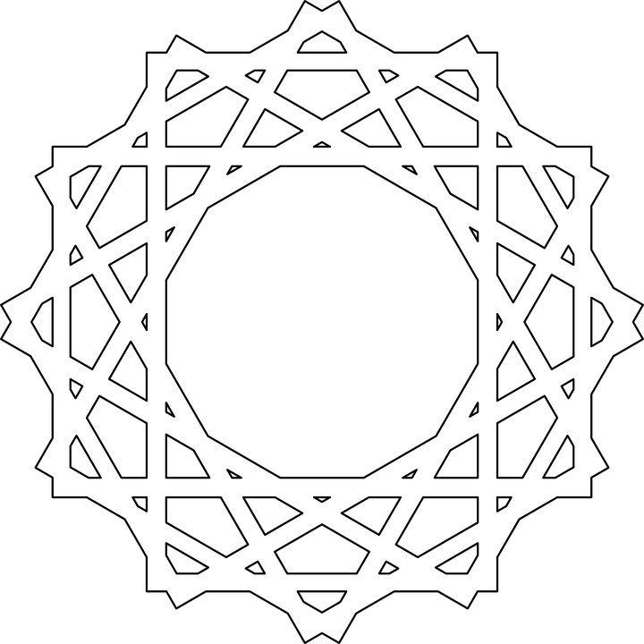 Patterns White Designs Circular Round Circle