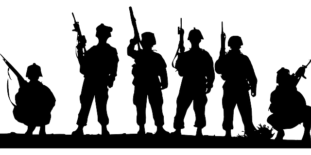 Soldiers Troops Military 183 Free Vector Graphic On Pixabay