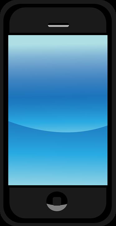 Image vectorielle gratuite t l phone cellulaire cran for Fond ecran cellulaire