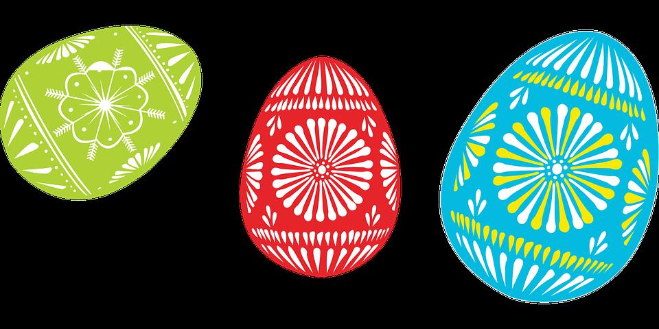 Oeufs Couleur Pâques Images Vectorielles Gratuites Sur Pixabay