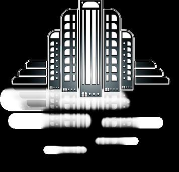 City, Skyline, Skyscraper, Building