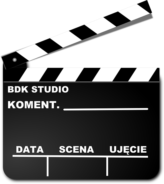 Free vector graphic movie clap scene data clapper - Clipart cinema gratuit ...