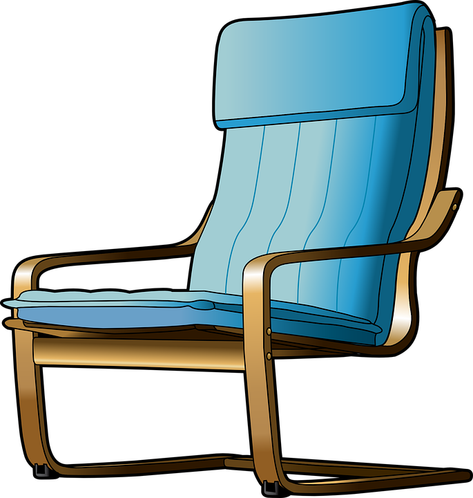 Sessel clipart  Kostenlose Vektorgrafik: Stuhl, Möbel, Sessel, Innenraum ...