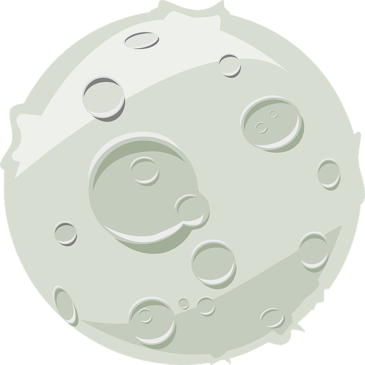 moon craters lunar free vector graphic on pixabay rh pixabay com moon vector png moon vector art free