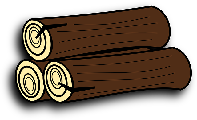 Firewood tree trunk · free vector graphic on pixabay