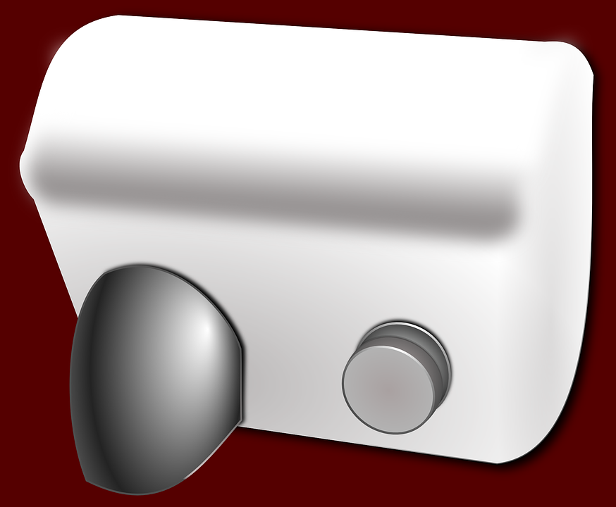 El Kurutma Makinesi Air Hijyen Pixabay Da Ucretsiz Vektor Grafik