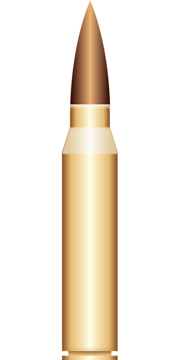 Bullet Shell Cartridge 183 Free Vector Graphic On Pixabay