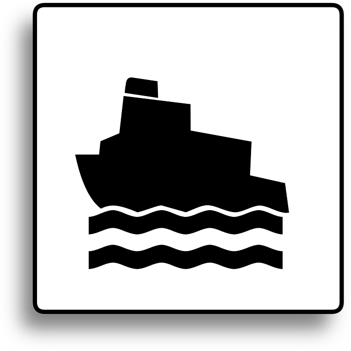 Free Vector Graphic Boat Sign Ship Sign Ferry Sign Free Image On Pixabay 36951