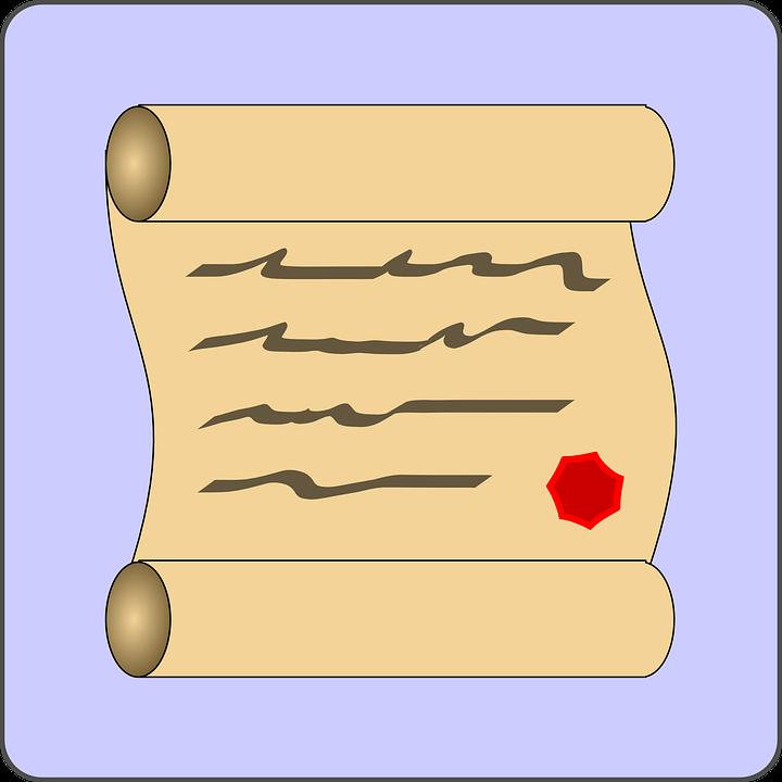 Certificato Scroll Laurea Grafica Vettoriale Gratuita Su Pixabay
