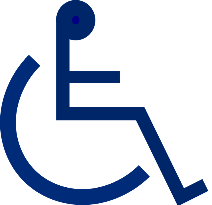 Free vector graphic wheelchair handicapped disabled Handicapped wheelchair