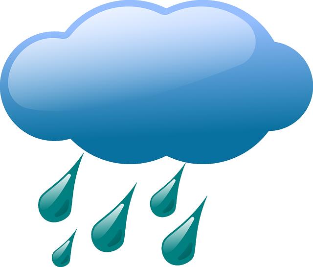 Облако дождик картинки