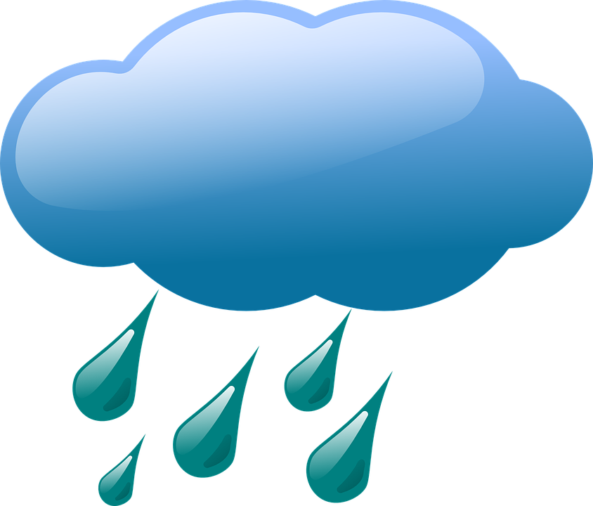 Cloud Weather Rain Free Vector Graphic On Pixabay
