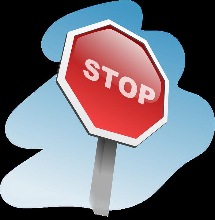 Stop Sign, Traffic Sign, Stop, Octagon Sign, Sign, Halt