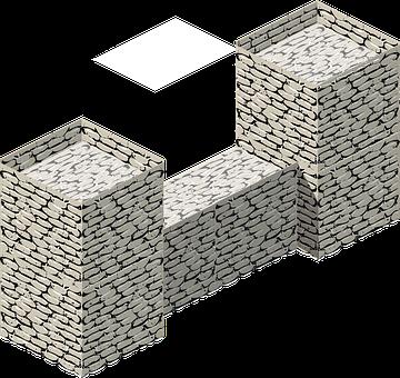 Brick Wall, Stone Wall, Brickwork