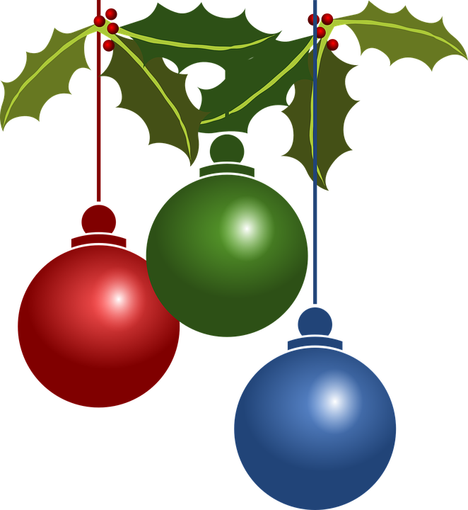 Free vector graphic: Decorations, Christmas, Balls, Xmas - Free ...