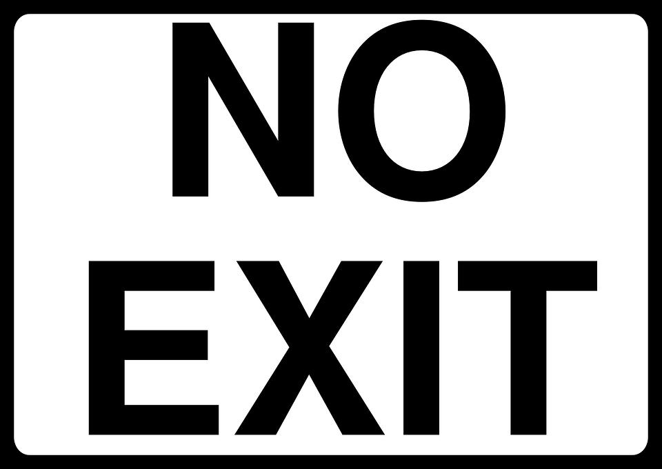 No Exit Forbidden Stop - Free vector graphic on Pixabay