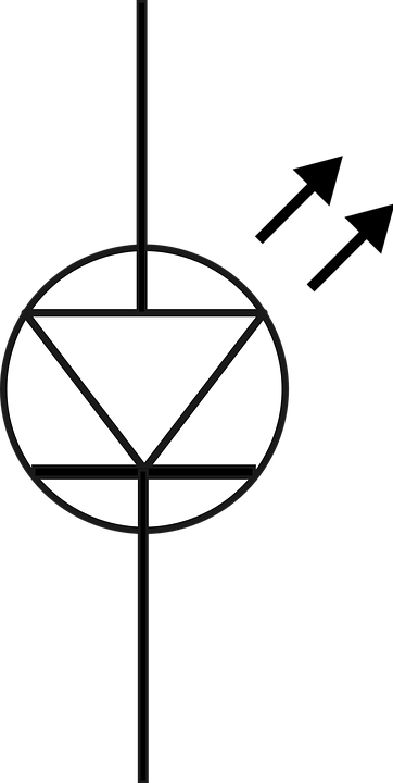 Diode Led Symbol Free Vector Graphic On Pixabay