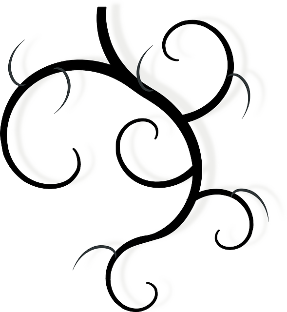 Drawing Lines With Svg : Vine swirls black · free vector graphic on pixabay