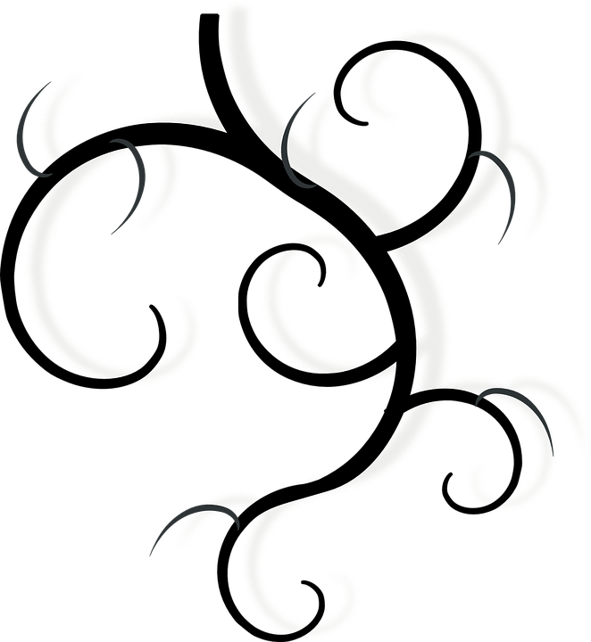 vine swirls black free vector graphic on pixabay rh pixabay com vine vector png vine vector png