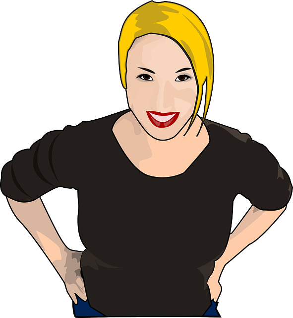 Woman Happy Smiling 183 Free Vector Graphic On Pixabay
