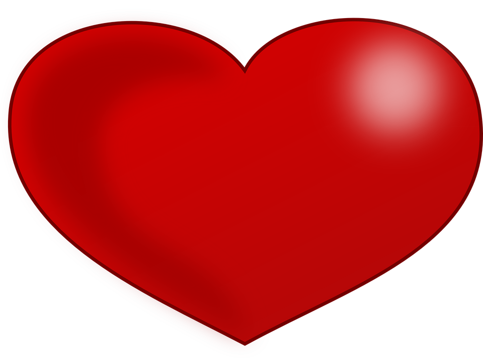 Heart Shape Vector Graphics Pixabay Download Free Images