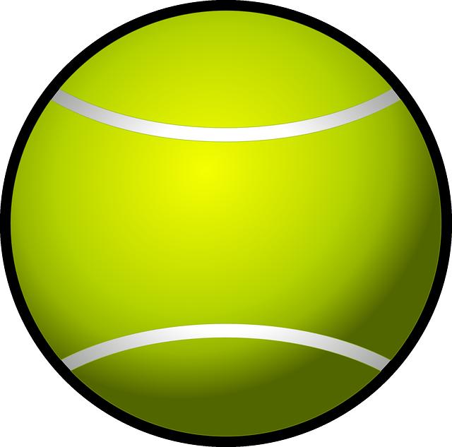 Tennis Ball Sport Racket · Free vector graphic on Pixabay