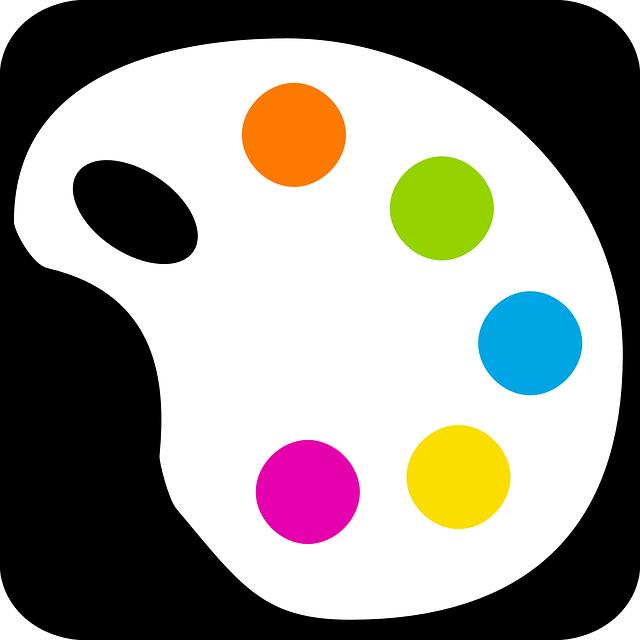 Vector gratis paleta pintura color colores imagen - Paleta de colores titanlux ...