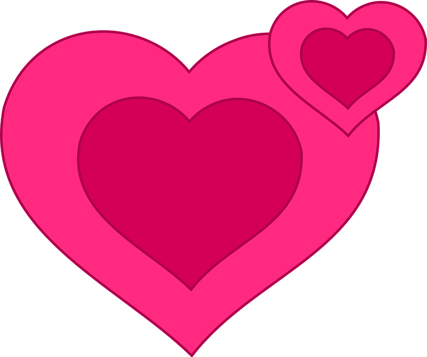 pink hearts pictures