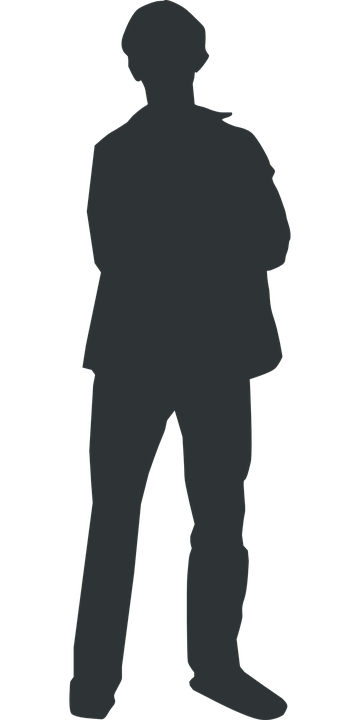 Free vector graphic: Man Silhouette Person Human Free