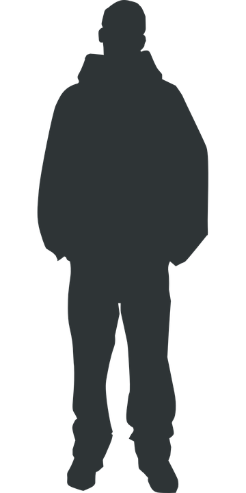 man person silhouette free vector graphic on pixabay rh pixabay com person silhouette vector free person standing silhouette vector
