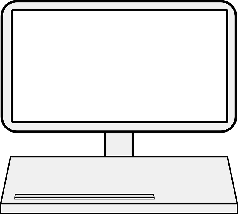 Monitor Screen Laptop Free Vector Graphic On Pixabay