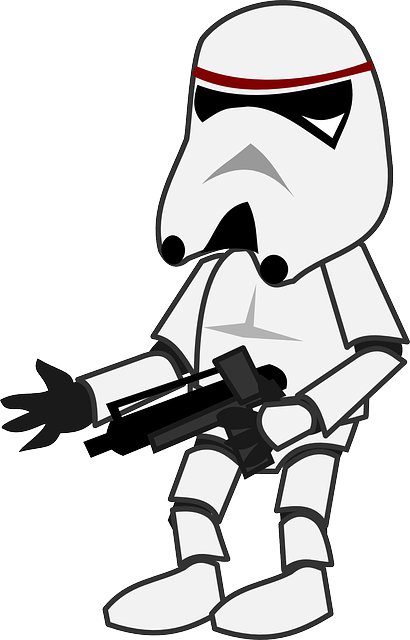Star Wars Storm Trooper Character 183 Free Vector Graphic On