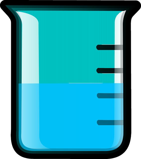 vector gratis  vaso de precipitados  qu u00edmica - imagen gratis en pixabay