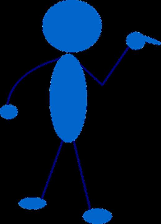 stick man stickman free vector graphic on pixabay