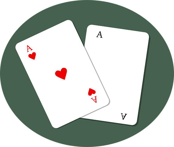 Aces, Hearts, Game, Cards, Poker, Casino