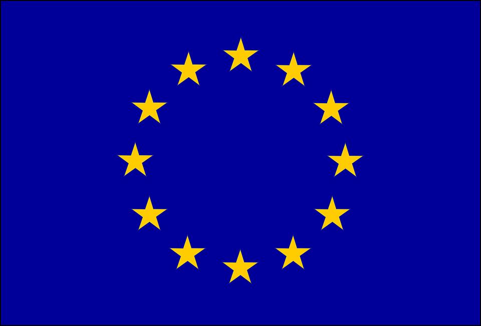 Bandiera Europa Sfondo Blu Grafica Vettoriale Gratuita Su Pixabay