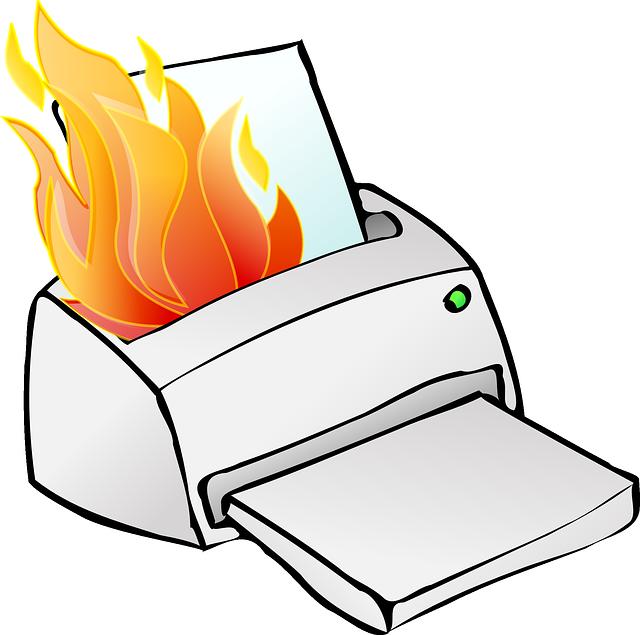 картинки принтер сломан опилок