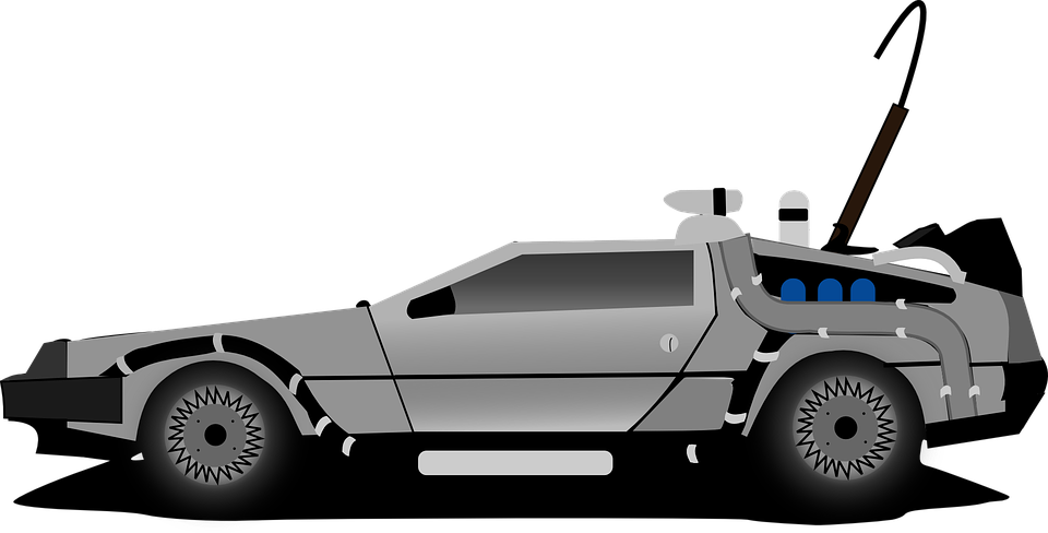 Delorean, Car, Time Machine, Back To The Future