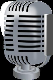 Micrófono, Difusión, Radiodifusión