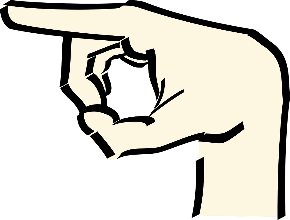 Free Vector Graphic: Point, Pointing, Finger, Hand